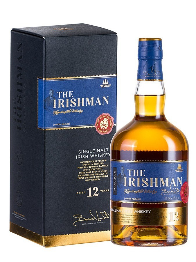 The Irishman Single malt 12 ans 43%