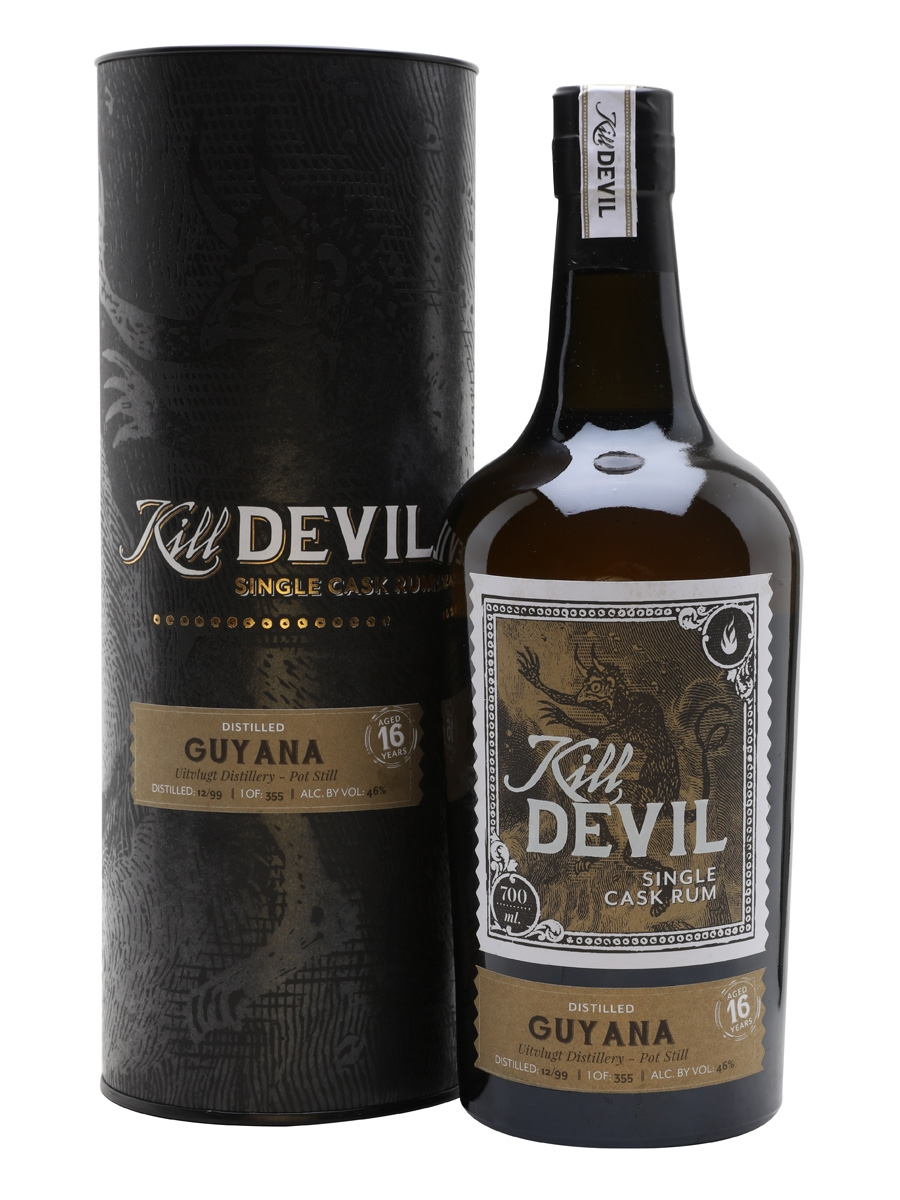Kill Devil Guyana Uitvlugt 16 ans pot still 46%