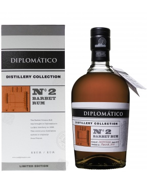Diplomatico Distillery Collection N°2 Barbet Rum 47%