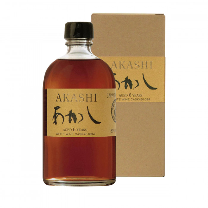 Akashi 6 ans Single Malt White Wine Finish 50%