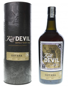 Kill Devil Guyana 24 ans (Distillerie Enmore) 46%